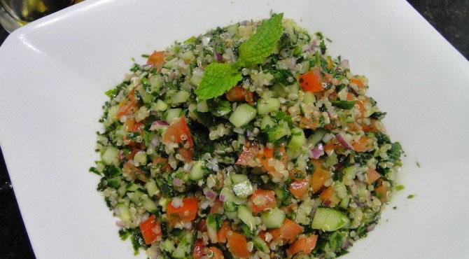 арабски салат с фото