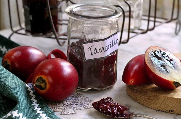 Варенье из тамарилло — замена малиновому варенью.