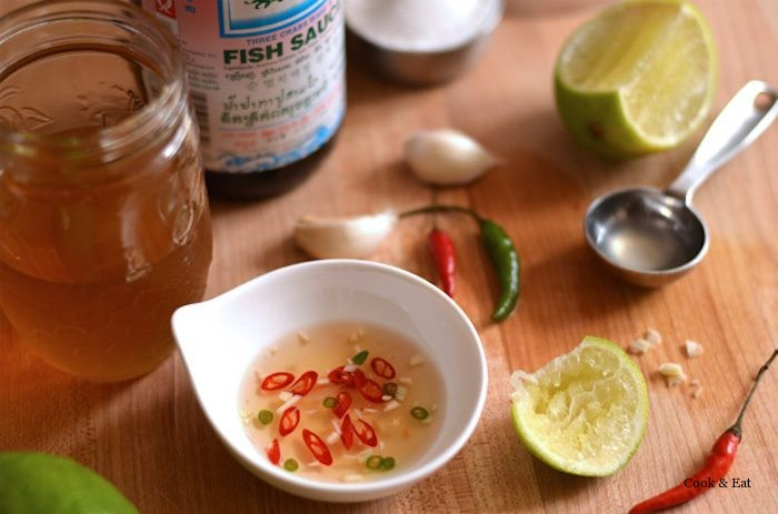 Вьетнамский острый соус-дип (Nước Chấm).