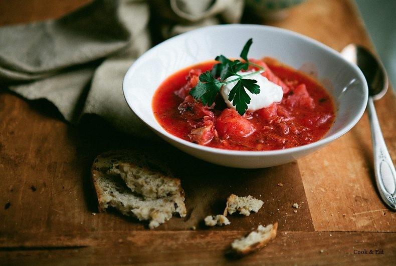 Борщ без мяса: как приготовить вкусно!