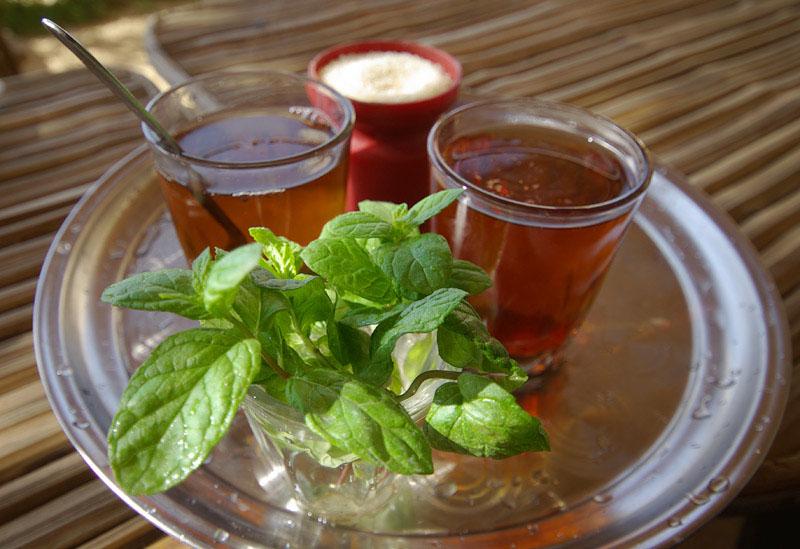 Как заваривают чай в Египте